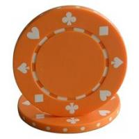 China 11.5g poker chips Coin Inlay Poker Chips wholesale