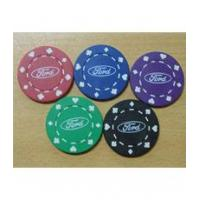 China 11.5g poker chips Imprinted 11.5g Suit Poker Chips wholesale