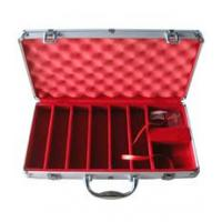 China chip cases 300pcs Aluminum Personalized Poker Chip Case on sale