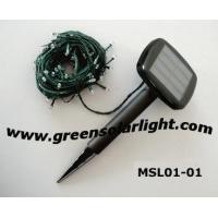 Buy cheap Solar String Lights(MSL01-01),Solar Fairy Lights,Solar Christmas Light from wholesalers