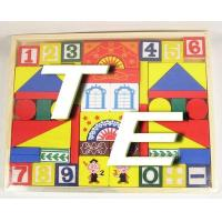 China TE-A3001 Wooden Block with Figures wholesale