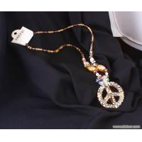 China crystal bead necklace,fashion jewelry on sale