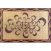 China Mosaics PRODUCT: BELLISSIMO SIZE: 1800mm 1200mm 70-7/8-47-2/8 MATERIAL: EMPERADOR DARK; BEIGE MARBLE on sale