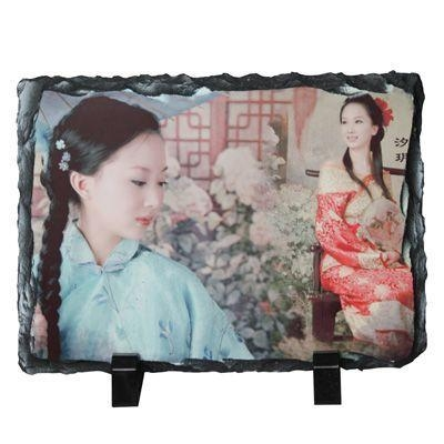 Quality Sublimation Tile & Plates sublimation Photo Slate -Rectangular Stone-smallDetails for sale