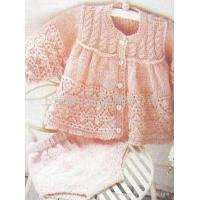 China Hand knit baby sweater on sale