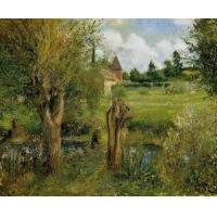 Impressionist(3830) The_Banks_of_the_Epte_at_Eragny