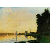 Impressionist(3830) Argenteuil,_Late_Afternoon