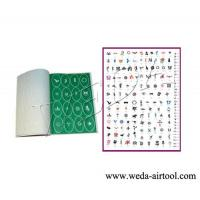 China Airbrush Tattoo Stencil and Ink 4 wholesale