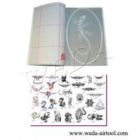 China Airbrush Tattoo Stencil and Ink 5 wholesale
