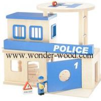 China Wooden house toy WT-MH-07 wholesale