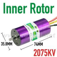 China Brushless Inrunner Motor, 3674-2075KV for RC Car (MC3674002) wholesale