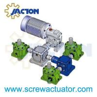 China electric worm gear screw lifting jack for lift platform on sale