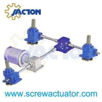 China multiple screw jack bevel gearbox arrangements on sale