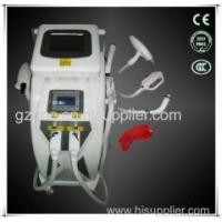 China 4 in 1 Nd Yag Laser Tattoo removal with Elight (IPL+RF) hair removal machine on sale