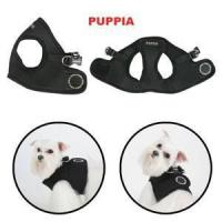 China PUPPIA - CLASSIC JACKET HARNESS - BLACK on sale