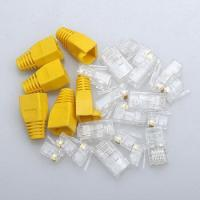 China RJ45 connector 8p8c plug CAT5e CAT6 wholesale