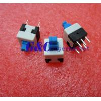 China 20PCS 8X8mm Blue Cap Self-locking Type Square Button Switch NEW GOOD QUALITY SW1 wholesale