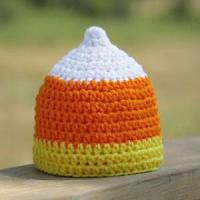 China Little Candy Corn Crochet Hat wholesale