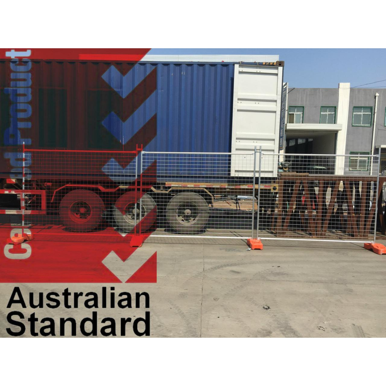 China Economic Temporary Fence For Sales Business -17 Microns Zinc Layer HDG before Weld wholesale