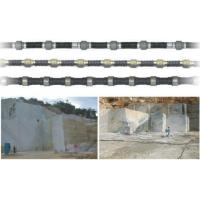 China Diamond wire for marble quarry cutting Spring rubb on sale