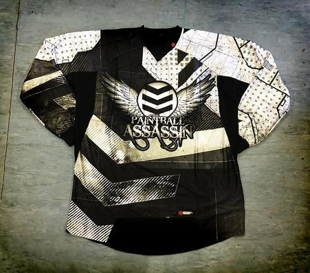 Quality Paintball Assassin Dynamic Jersey - Avalanche - 2xl/3xl for sale