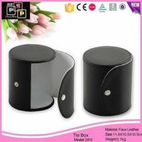 China Custom Leather Tie Packaging Box Wholesale wholesale