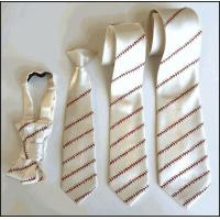 China Baseball Stitching Ties wholesale