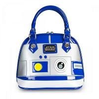 China STAR WARS STAR WARS R2D2 PATENT EMBOSSED BAG BY LOUNGEFLY wholesale
