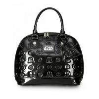 China STAR WARS STAR WARS DARTH VADER DARKSIDE PATENT EMBOSSED BAG BY LOUNGEFLY wholesale