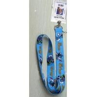 China The Smurfs Lanyard Keychain with Vertical Badge Holder wholesale