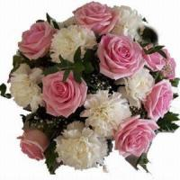 China Rose and Carnations Bouquet NO.34 wholesale