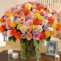 Buy cheap 100 Roses in a Vase NO.55 from wholesalers