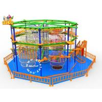 China QL-010 Hot Sale Ropes Obstacle Course Equipment Climbing Frame For children, High Quality indoor on sale