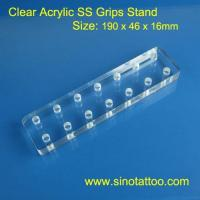 China Disposable Tattoo Tubes Tattoo Grips Stand on sale