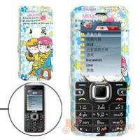 China Blue Hard Plastic Case with Lovers Pattern for Nokia 6122C Cell Phone Cases wholesale