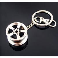 China Double sides car fender trim diecast keychains on sale