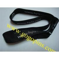 China cheap custom lanyard with no minimum order on sale