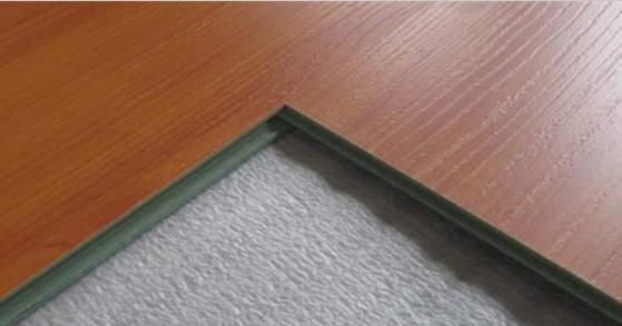 Laminate flooring square edge of dgfloors for Square laminate floor tiles