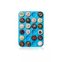 Large Mini Muffin Pans - 24 Cup Jumbo Silicone Pan for Cupcakes and Premium Baki
