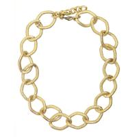 China Necklaces Chunky Gold Chain Link Necklace on sale
