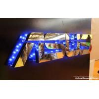 China Stud Mounting Reverse Lit Metal Letters Sign wholesale