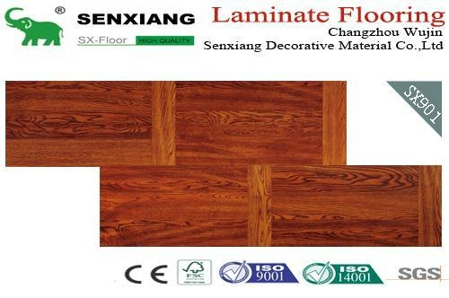 Changzhou Egret Manufacturing Co Ltd Mail: Stagger Pattern Good Decorative Laminate Wood Flooring Of