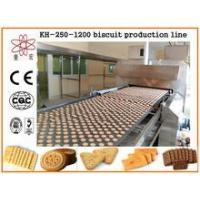 Buy cheap KH CE approved electric biscuit maker/biscuit cake production machine from wholesalers