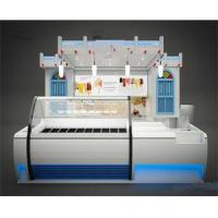 China Food kiosk for frozen Yogurt ice cream furniture-SY070 on sale