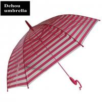 Bizarre handle transparent umbrella ITEM NO:TP 151269