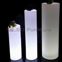 China Tall led cylinder/pillar light wholesale