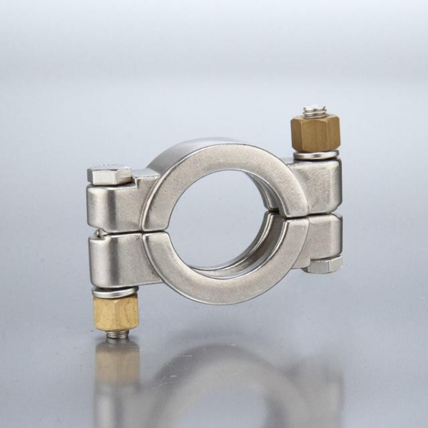 Sanitary fittings mhp high pressure bolted style clamp