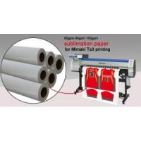 China 80gsm/90gsm/100gsm Sublimation Paper for Mimaki Ts3 printing wholesale