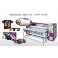 China Roll Size Sublimation Transfer Paper for Monti Antonio Machine on sale