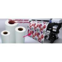 China 80gsm/90gsm/100gsm Sublimation Paper for Epson F7200 Printing wholesale